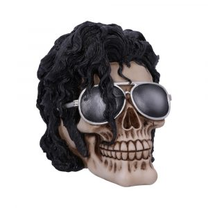 Bad – Michael Jackson King of Pop Inspired Skull 16.5cm <br> U5277